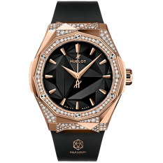 HUBLOT CLASSIC FUSION ORLINSKI KING GOLD ALTERNATIVE PAVÉ