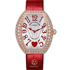 FRANCK MULLER HEART ROSE GOLD AND DIAMONDS 5002