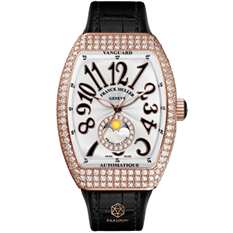 FRANCK MULLER  V32 VANGUARD ROSE GOLD DIAMONDS MOONPHASE