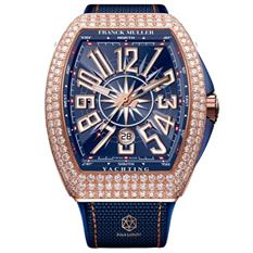 FRANCK MULLER YANGUARD YACHTING ROSE GOLD DIAMONDS