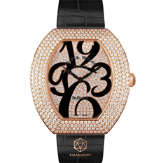 FRANCK MULLER INFINITY ROSE GOLD FULL DIAMONDS