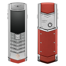 VERTU SIGNATURE S RED CALF