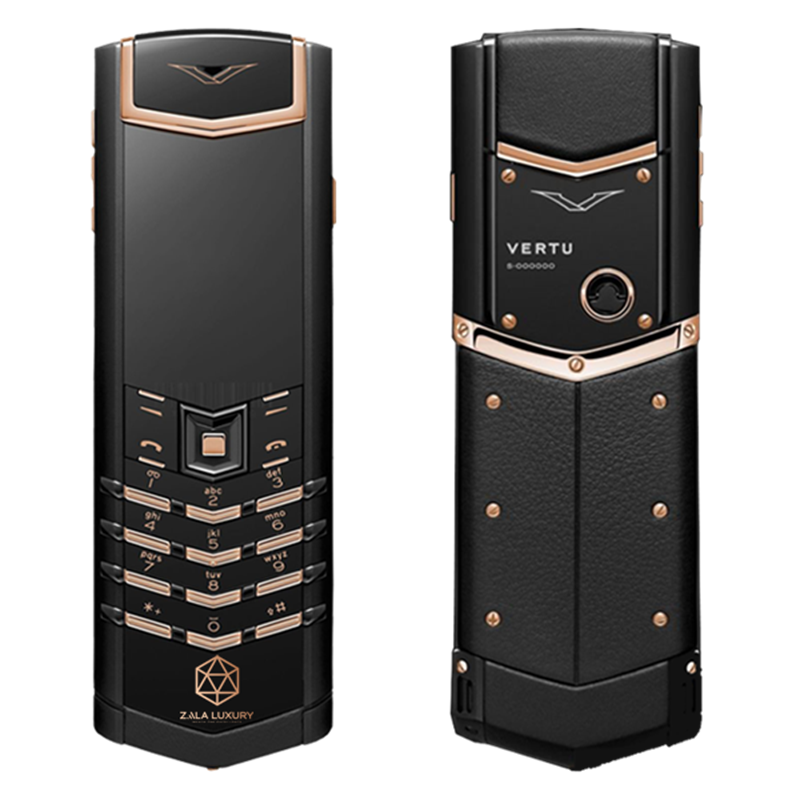 VERTU SIGNATURE S BLACK MIX GOLD